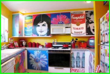 decorazione pensili e mobili cucina e pareti cucina