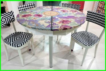wrapping mobili con pellicole per wrapping, decorazione tavolo